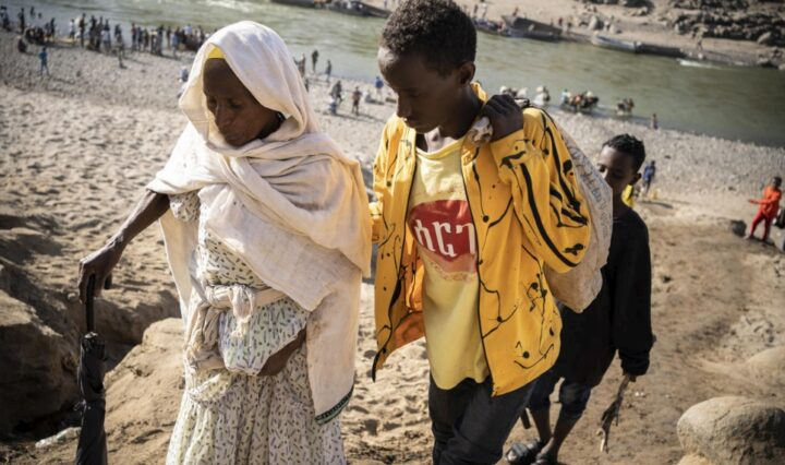 From natives to refugees, families leave their homeland in Tigray