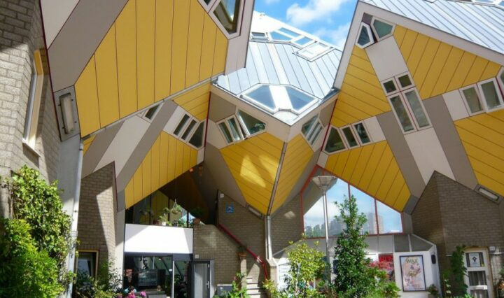 Cube Houses in Netherlands